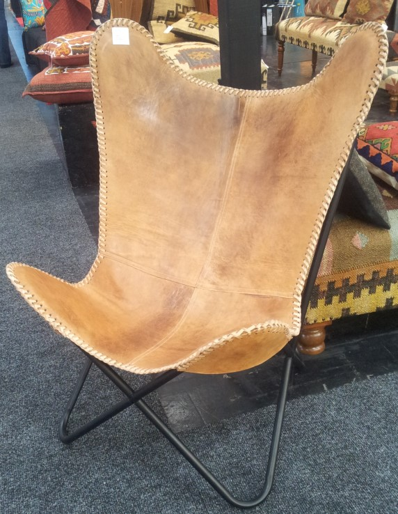 Leather Butterfly Chair. Butterflychair